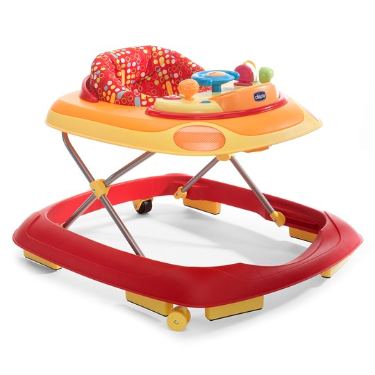 Chicco Band Baby Walker Red Rød