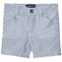 Andy & Evan Seersucker Shorts Blue