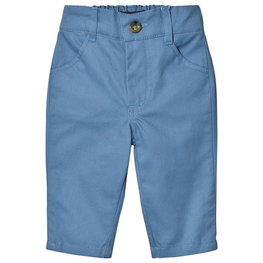 Andy & Evan Blue Twill Pants Blue