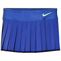 NIKE Victory Tennis Skirt Paramount Blue PARAMOUNT BLUE/BLACK/GHOST GREEN