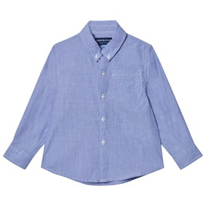 Image of Andy & Evan Blue Chambray Button Down Shirt 11-12 years (3125331379)