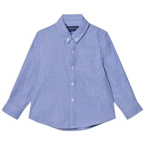 Andy & Evan Blue Chambray Button Down Shirt Blue