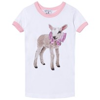 Wildfox White Little Lamb Vintage Tee CLEAN WHITE