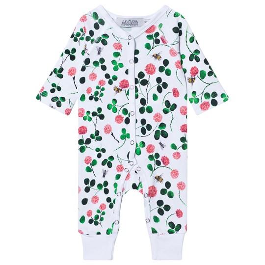 Anïve For The Minors Baby Jumpsuit Clover White/Multi White/multi