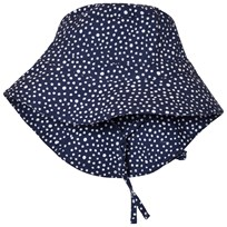 eBBe Kids Cara Sunhat Dotted Midnight Blue Dotted midnight blue