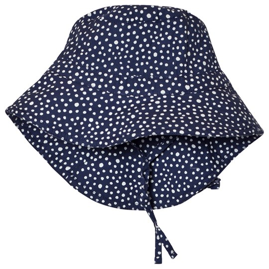 ebbe Kids Cara Prickig Solhatt Midnight Blue Dotted midnight blue