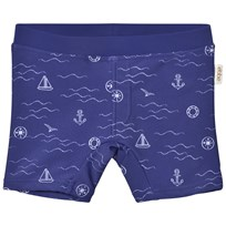 eBBe Kids Alanzo Swim Pant Blue Sea Waves Blue sea waves