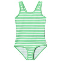 eBBe Kids Agnes Swimsuit Crisp Green Stripes Crisp green stripes
