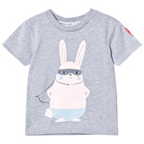 Scamp & Dude Super Marl T-Shirt – Super Bunny Grey Marl