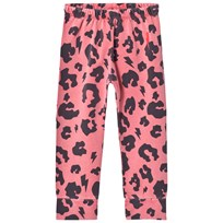 Scamp & Dude Chill Out Leggings – Coral Leopard Dark Coral