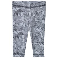 Petit by Sofie Schnoor New Leaf Leggings Grå Melange New Leaf Grey Mlg