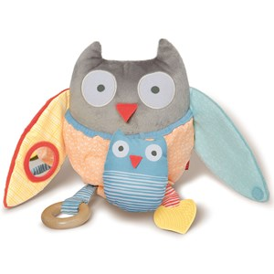 Image of Skip Hop Hug & Hide Treetop Friends Activity Toy Owl (2743741789)