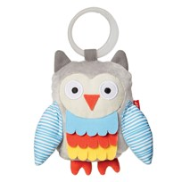 Skip Hop Treetop Friends Wise Owl Stroller Toy Grey/Pastel