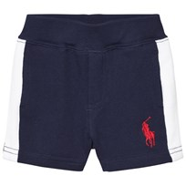 Ralph Lauren Navy Stripe Cotton Atlantic Shorts 001