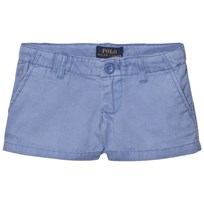 Ralph Lauren Blue Washed Chino Shorts 003