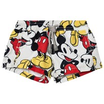MC2 St Barth Mickey Mouse Print Trunks MICKEY SMILE