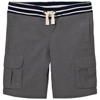 Lands End Grey Adventure Cargo Short Arctic Gray
