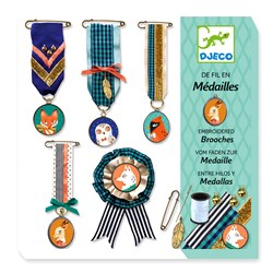 Djeco Sewing Brooches Kit