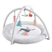 Kids Concept Baby Gym Edvin Grey Musta