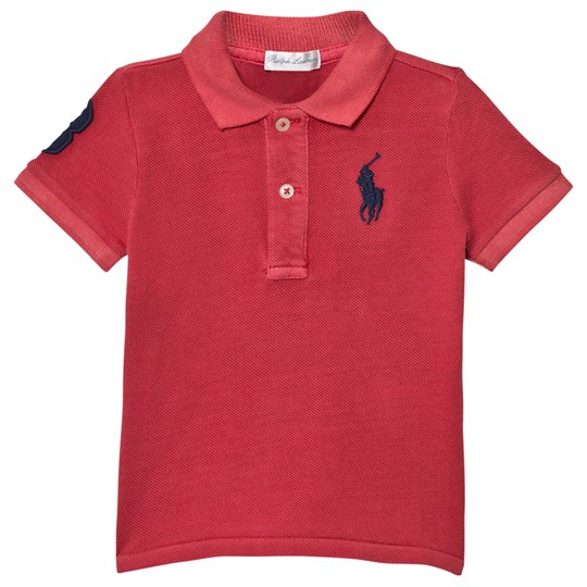 Ralph Lauren Red Big Pony Polo 005