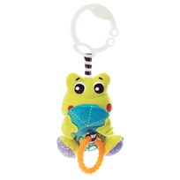 Playgro Peek-A-Boo Wiggling Frog White