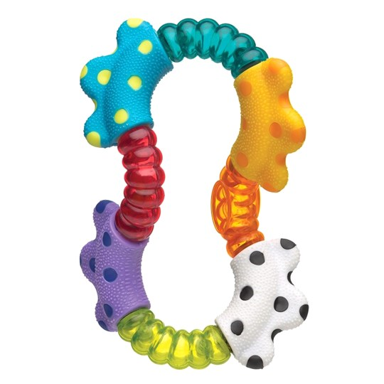 Playgro Click and Twist Rattle White