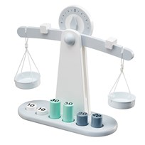 Kids Concept Wooden Toy Scale White