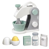Kids Concept Toy Food Mixer Set White/Grey Valkoinen