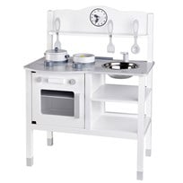 Kids Concept Play Kitchen White/Grey White