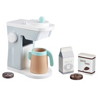 Kids Concept Toy Coffee Maker White/Grey Hvit