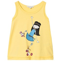 The Marc Jacobs Miss Marc Rollerskating Vest Yellow