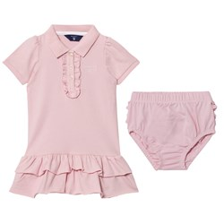 GANT Pink Frill Polo Dress Bloomers