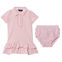 Gant Pink Frill Polo Dress Bloomers 637