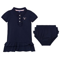 Gant Navy Frill Polo Dress with Bloomers 403