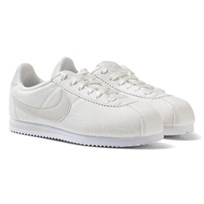 NIKE Cortez Kids Trainers White SUMMIT WHITE/SUMMIT WHITE-LIGHT BONE
