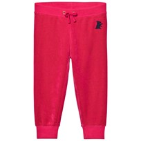 Juicy Couture Fuchsia Velour Track Pants Flamingo Pink