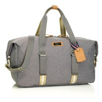 Storksak Duffel Grey Black
