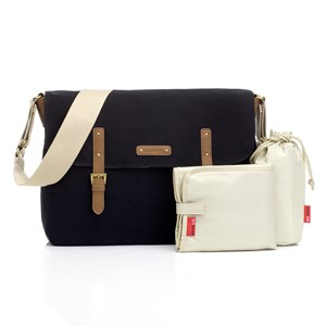 Image of Storksak Ashley Changing Bag Black Canvas (3125353765)
