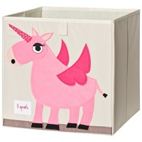 3 Sprouts Unicorn Storage Box Multi
