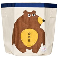 3 Sprouts Bear Storage Bin Multi