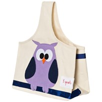 3 Sprouts Owl Storage Caddy пестрый