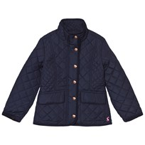 Joules Navy Quilted Jacket French Navy