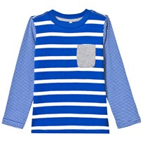 Joules Blue Stripe Long Sleeve Tee BOLD BLUE STRIPE