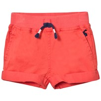 Joules Red Woven Shorts Punainen