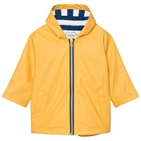 Hatley Yellow Fleece Lined Raincoat Yellow