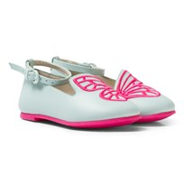 Sophia Webster Mini Bibi Butterfly Mini Pumps Spearmint/Rosa Spearmint