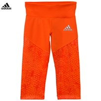 adidas Orange Capri Leggings ENERGY ORANGE