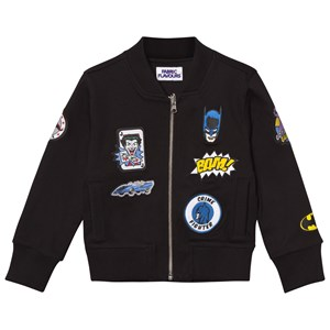 Image of Fabric Flavours Batman Patch Bomber Jacket 3-4 years (2743702945)