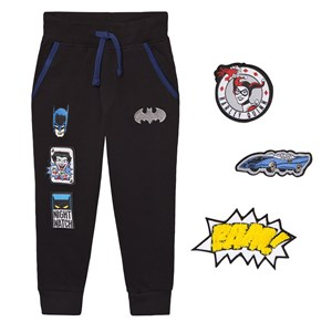 Image of Fabric Flavours Batman Interchangeable Patch Sweatpants 3-4 years (2743702929)