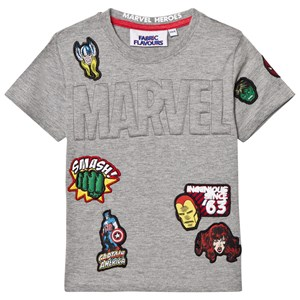 Fabric Flavours Marvel Embossed Patch Tee 3-4 years